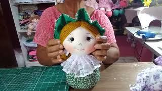 Boneca Puxa Saco de Fuxico – Super Fácil