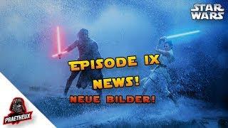 🌌 STAR WARS EPISODE IX: NEUE BILDER! ✨ Der Aufstieg Skywalkers!