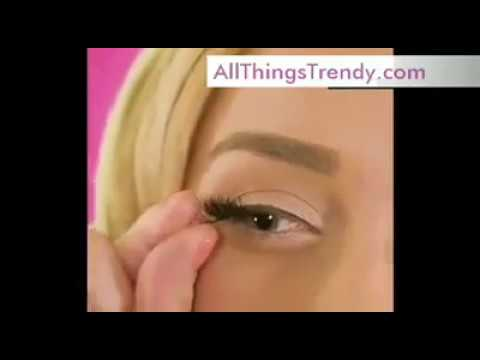 b8b0e188470 Magnetic Eyelashes- The Latest Craze Now In Beauty Industries - YouTube