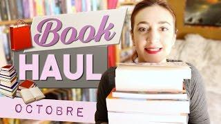 BOOK HAUL OCTOBRE 📚 & 💩 LA POSTE