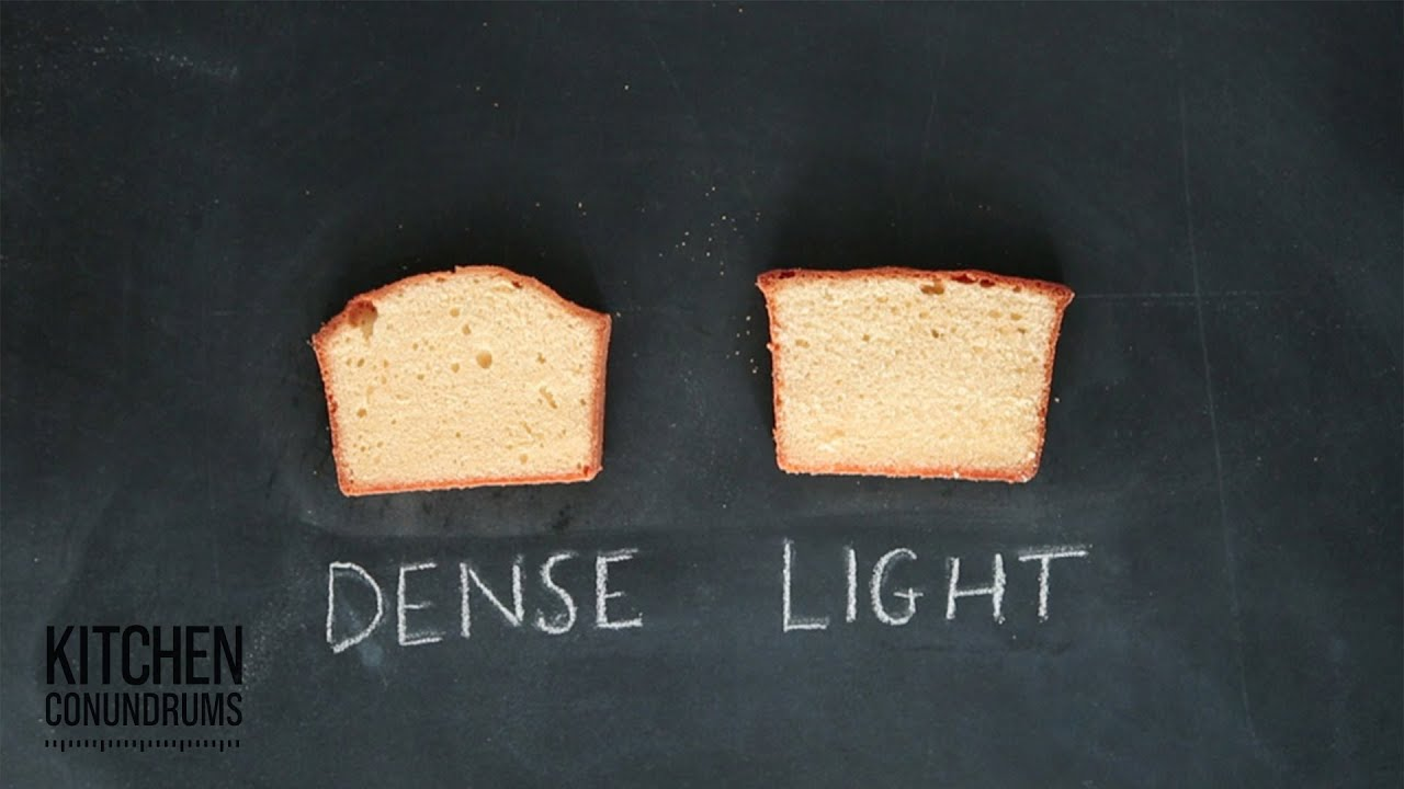 The Science Behind Pound Cake Kitchen Conundrums With
