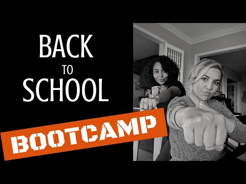 BACK TO SCHOOL BOOTCAMP: Re-establishing your Homeschool Routine