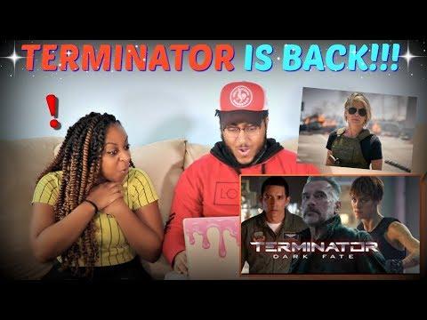 """Terminator: Dark Fate"" Official Teaser Trailer REACTION!!!"