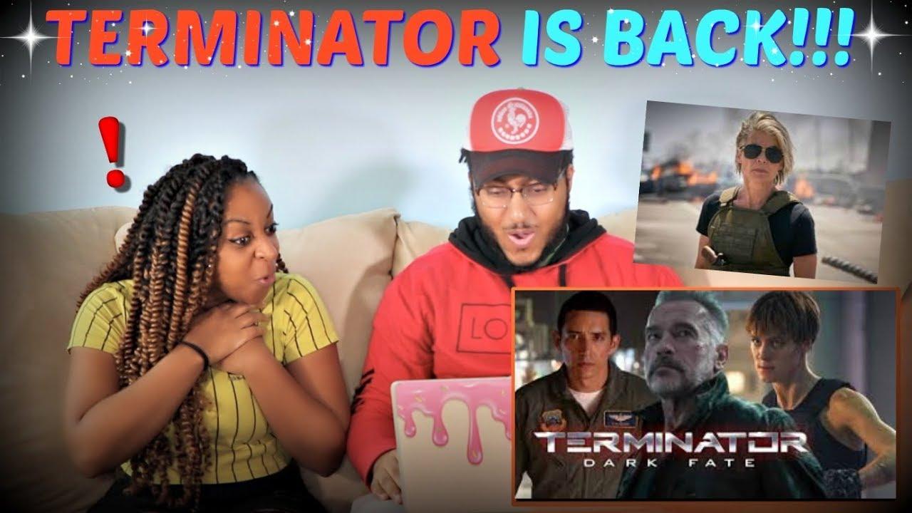 "Download ""Terminator: Dark Fate"" Official Teaser Trailer REACTION!!!"