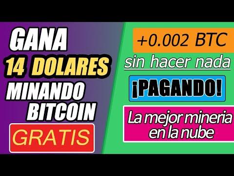 GANA BITCOIN GRATIS MINANDO En La NUBE · COMO GANAR CRIPTOMONEDAS GRATIS 2020 · SIN HACER NADA ·