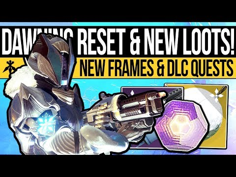 Destiny 2 | THE DAWNING & NEW FORGE LOOT! Weekly Reset, Weapon Frames, Quests & Nightfall (11th Dec)