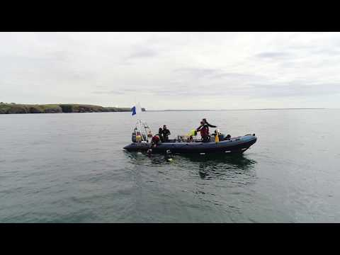 Diving with Waterford Harbour Sub-Aqua Club