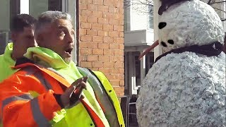 Scary Snowman Pranks Providence, Boston, Philly, & NYC S8 E3