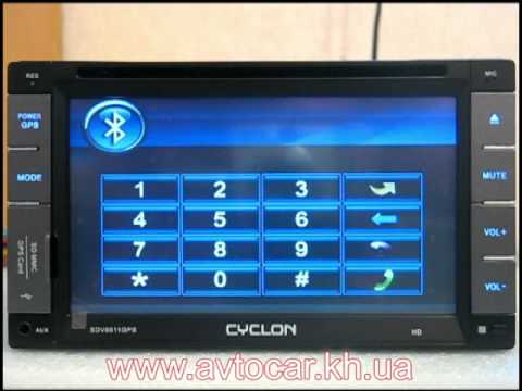 Cyclon Sdv-6511 Gps Инструкция - фото 7