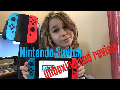 Nintendo Switch Unboxing And Review - Ian Petro