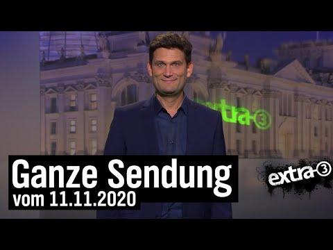 Extra 3 vom 11.11.2020 mit Christian Ehring | extra 3 | NDR