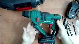 Trapano a percussione a batteria PARKSIDE® PABH 20-Li B2