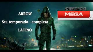 ARROW 5ta TEMPORADA COMPLETA (DUAL LATINO/INGLES) MEGA