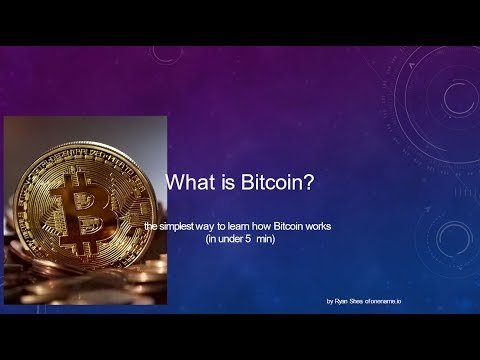 Bitcoin In 5 Minutes