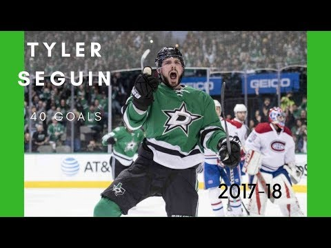 Tyler Seguin 2017-18 All Goals (40) Highlights