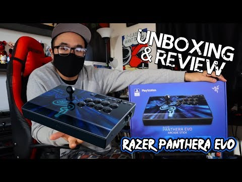 Razer Panthera Evo Arcade Stick - Unboxing & Review Mp3
