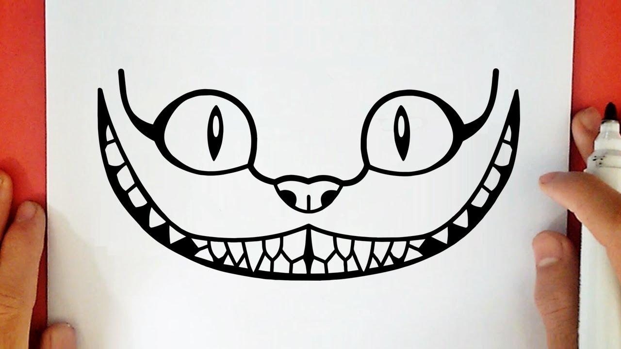 Comment Dessiner Le Chat Du Cheshire Tumblr Youtube