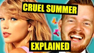 """""""Cruel Summer"""" by Taylor Swift Is DEEP   Lyrics Meaning Explained Video"""