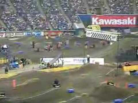 Compilation supercross Montreal 2007