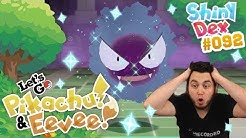 EPIC SHINY GASTLY in POKEMON LETS GO PIKACHU and EEVEE!