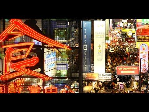 #5 Hong Kong - Mega Miasto Nocą. Emigracja Do Azji. Chiny.