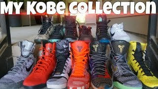My Kobe Collection (On Feet) & Farewell Last Game Reaction