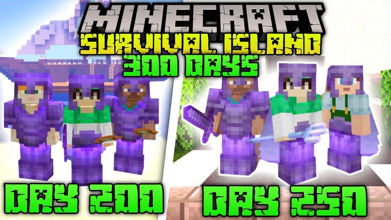 Download WE SURVIVED 100 DAYS IN SURVIVAL ISLANDS | MINECRAFT