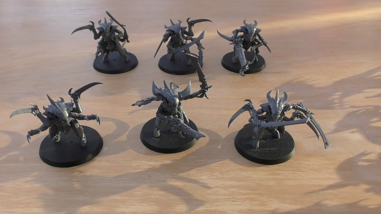 Tyranid Warriors - Review (WH40K)