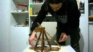 Tabletop Trebuchet