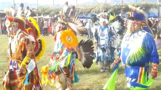 TAOS PUEBLO POW WOW 2019 DAY 2  EVENING - Grand Entry