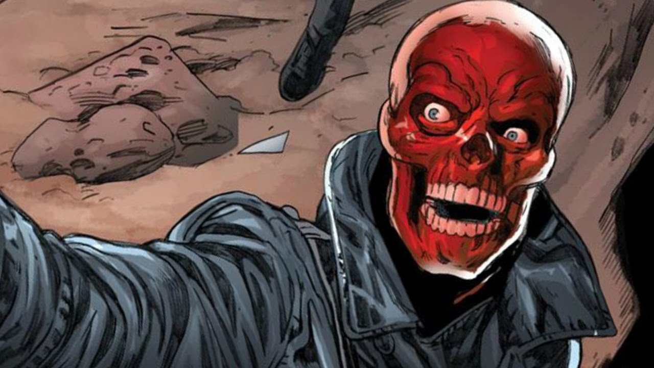 Image result for the red skull comics