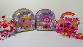 Lalaloopsy Tinies Crumbs Jewels House Playset Toy Unboxing Review