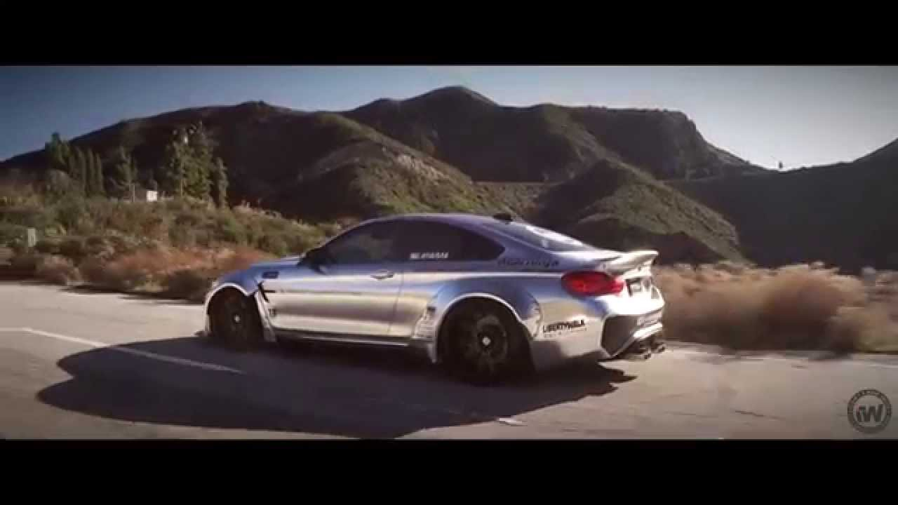 Impressive Wrap: Liberty Walk BMW M4 wrapped in Satin ...