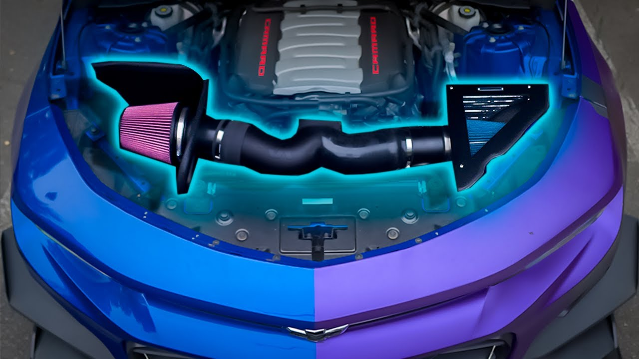 Intake Duel: GM Performance vs K&N // Install & Review - Camaro SS 1LE