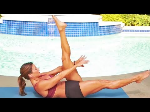 Intense Flat Abs Workout // 10 Fat Burning Ab Exercises