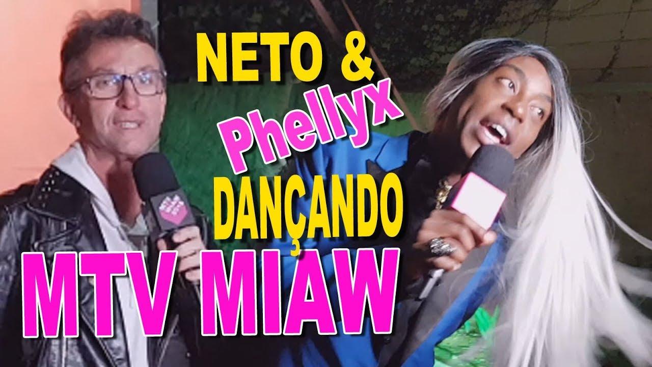 NETO DANÇANDO NO PRÊMIO MTV MIAW 2018
