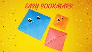 Easy origami bookmark | bookmark | paper bookmark | sweety trendzzz