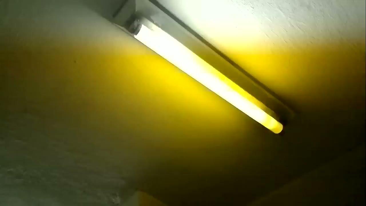 Dicas do gilson eletricista lumin ria fluorescente com - Luminaria fluorescente estanca ...