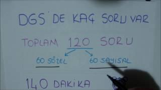 DGS sayısalda neler var? Nasıl çalışılır ?