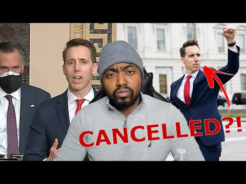 MSM Cancels Josh Hawley Because He Tried To Give A Voice To The People