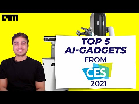 Top 5 AI Based Products from CES 2021