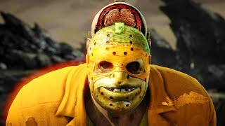 Mortal Kombat XL - All Fatalities & X-Rays on Michelangelo TMNT Jason Costume 4K Gameplay Mods