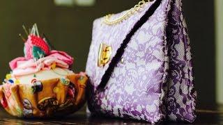 Bolsa envelope dupla por Rosa Mutuca