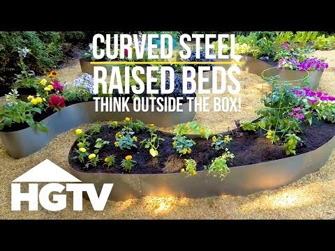 How to Make Raised Garden Beds From Steel - Way to Grow - HGTV