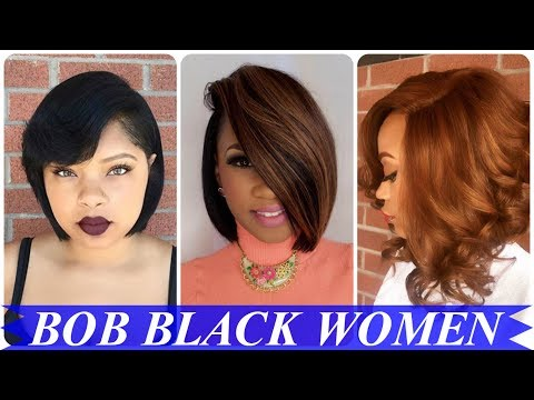 20 Cool Ideas About Bob Haircuts For Black Women