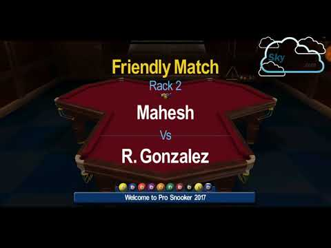 Snooker HD | 1st Shot Lucky N Last Shot Unlucky | US 10 Ball Challenge | Mahesh VS R Gonzalez