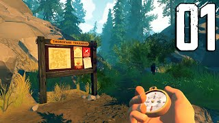 Firewatch - Part 1 - The Beginning