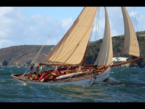 Classic yacht: new 43ft 1880s style gentleman's cutter Integrity