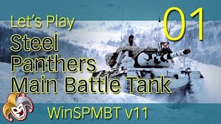 Steel Panthers MBT ~ Frosty Insurgents ~ 01 Onto the Cliffs