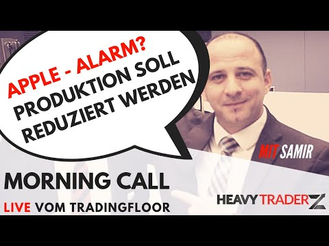 Morning Call 09.01.2019: Apple - Weltwirtschaft - Handelstreit USA und China
